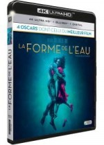 Jaquette La Forme de l'eau (4K Ultra HD + Blu-ray + Digital HD)