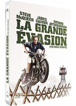 Jaquette La Grande �vasion (Combo Blu-ray + DVD - �dition Limit�e bo�tier SteelBook)