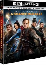 Jaquette La Grande Muraille (4K Ultra HD + Blu-ray + Copie Digitale UltraViolet)