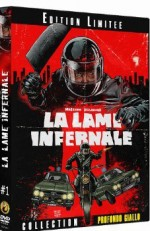 Jaquette La Lame Infernale (édition limitée) EPUISE/OUT OF PRINT