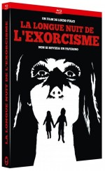 Jaquette La Longue nuit de l'exorcisme (DVD + Bluray)