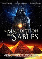 Jaquette La Mal�diction des sables