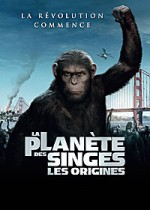 Jaquette La Plan�te des singes : Les origines (DVD + Copie digitale)