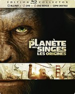 Jaquette La Plan�te des singes : Les origines (�dition Collector)