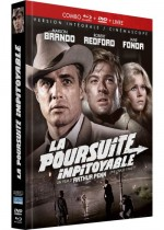 Jaquette La Poursuite impitoyable  (DVD + BLURAY+ Livret))