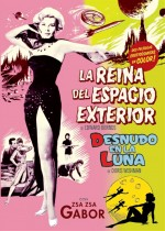 Jaquette La Reina del Espacio Exterior + Nude on the Moon