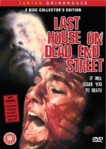Jaquette Last House On Dead End Street (Two Discs)