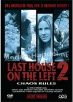 Jaquette Last House On The Left 2 - Chaos Rules