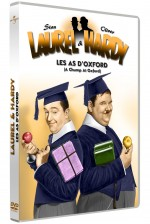 Jaquette Laurel & Hardy - Les as d'Oxford (Version coloris�e)