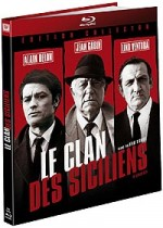 Jaquette Le Clan des Siciliens (�dition Digibook Collector + Livret)