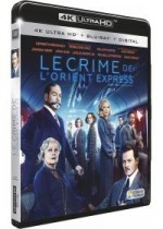 Jaquette Le Crime de l'Orient Express (4K Ultra HD + Blu-ray + Digital HD)