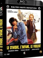 Jaquette Le cynique, l'infâme, le violent - Combo DVD/BluRay EPUISE/OUT OF PRINT