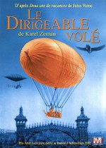 Jaquette Le Dirigeable volé EPUISE/OUT OF PRINT