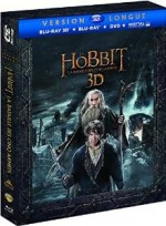 Jaquette Le Hobbit : La bataille des cinq armées (Version longue - Blu-ray 3D + Blu-ray + DVD + Copie digitale)
