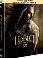 Jaquette Le Hobbit : La d�solation de Smaug (�dition Ultimate - Blu-ray 3D + Blu-ray + DVD + copie digitale)