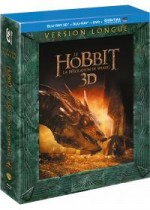 Jaquette Le Hobbit : La désolation de Smaug (Version longue - Blu-ray 3D + Blu-ray + DVD + Copie digitale)
