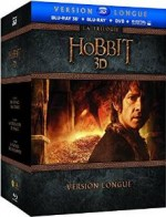 Jaquette Le Hobbit - La trilogie (Version longue - Blu-ray 3D + Blu-ray + DVD + Copie digitale)