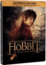Jaquette Le Hobbit : Un voyage inattendu (Ultimate Edition - Blu-ray + DVD + Copie digitale - SteelBook Bilbon)