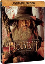 Jaquette Le Hobbit : Un voyage inattendu (Ultimate Edition - Blu-ray + DVD + Copie digitale - SteelBook Gandalf)