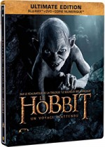 Jaquette  Le Hobbit : Un voyage inattendu (Ultimate Edition - Blu-ray + DVD + Copie digitale - SteelBook Gollum)