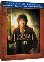 Jaquette Le Hobbit : Un voyage inattendu (Version longue - Blu-ray 3D + Blu-ray + DVD + Copie digitale)