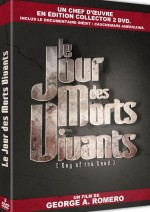 Jaquette Le Jour des morts vivants (�dition Collector)