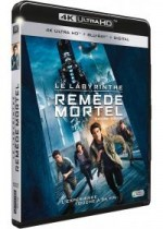 Jaquette Le Labyrinthe : Le remède mortel (4K Ultra HD + Blu-ray + Digital HD)
