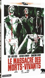 Jaquette Le Massacre des Morts-Vivants