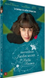 Jaquette Le Merveilleux jardin secret de Bella Brown
