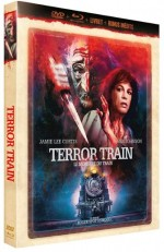 Jaquette Le Monstre du Train (Blu-ray + DVD + Livret)