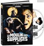 Jaquette Le Moulin des Supplices (Blu-ray + DVD)