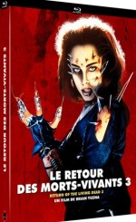 Jaquette Le Retour Des Morts-vivants 3 - Combo Dvd + Blu-ray EPUISE/OUT OF PRINT