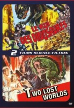 Jaquette Le Roi des dinosaures + Two Lost Worlds