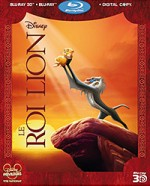 Jaquette Le Roi Lion (Blu-ray 3D + Blu-ray + Copie digitale)