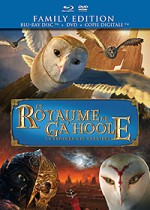Jaquette Le Royaume de Ga'Hoole - La l�gende des gardiens (Family Edition - Blu-ray Disc + DVD + Copie digitale)