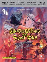 Jaquette Legend of the Witches - Secret Rites (DVD + Blu-ray)