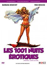Jaquette Les 1001 nuits rotiques