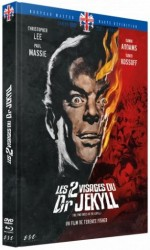 Jaquette Les 2 Visages du Dr Jekyll (Blu-ray + DVD)
