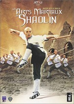 Jaquette Les Arts Martiaux de Shaolin version 2 dvd