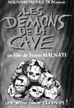 Jaquette Les DEMONS DE LA CAVE EPUISE/OUT OF PRINT