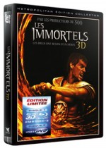 Jaquette Les Immortels (Blu-ray 3D + DVD)