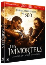 Jaquette Les Immortels (Blu-ray + DVD)