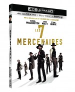 Jaquette Les Sept mercenaires (4K Ultra HD + Blu-ray + Copie Digitale UltraViolet)