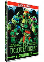 Jaquette Les Tortues Ninjas 2 : Le secret de la mutation + Les Tortues Ninjas 3 : Nouvelle gnration