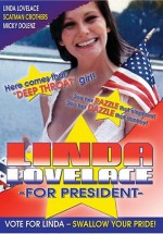 Jaquette Linda Lovelace for President