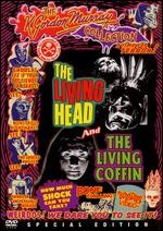 Jaquette LIVING HEAD/THE LIVING COFFIN