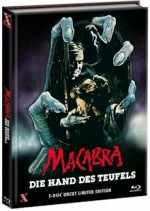 Jaquette Macabra - Die Hand des Teufels (Blu-Ray+DVD)  - Cover D