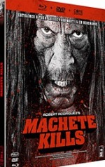 Jaquette Machete Kills (Combo Blu-ray + DVD + Copie digitale - Édition boîtier SteelBook)