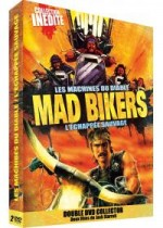 Jaquette Mad Bikers : Les machines du diable + L'échappée sauvage EPUISE/OUT OF PRINT