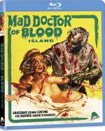 Jaquette Mad Doctor of Blood Island